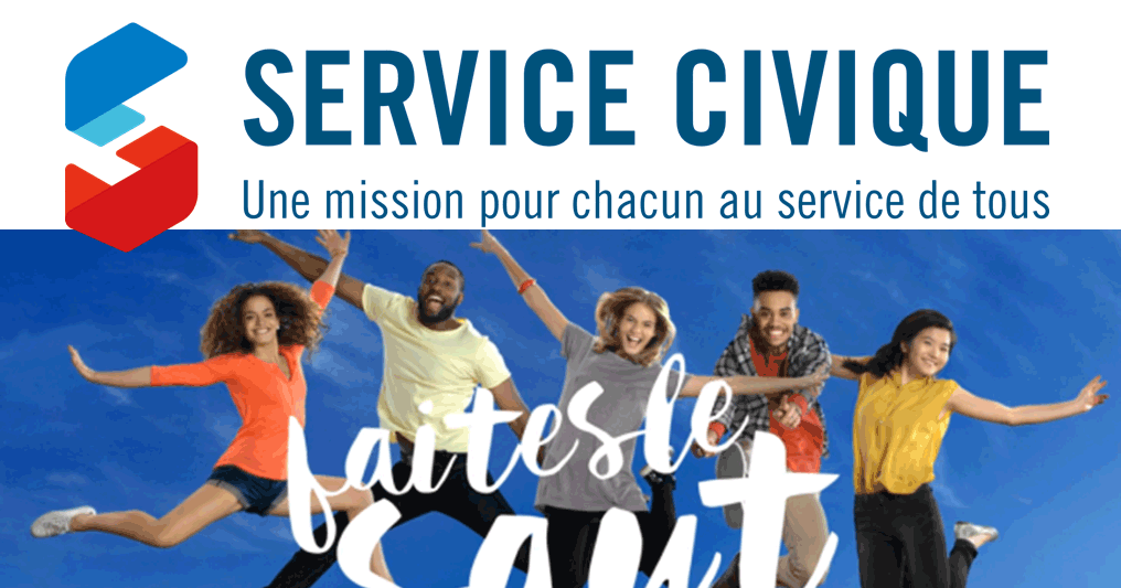 RECRUTEMENT SERVICE CIVIQUE EN OCTOBRE 2020